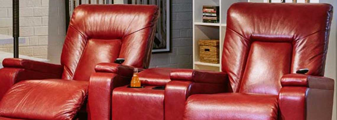 Alger Furniture Red Recliner