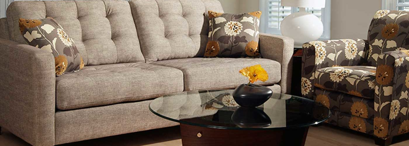 Alger Furniture - Beige Sofa